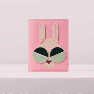 Kate spade spademals money bunny bifold cardholder